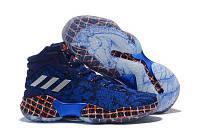 Баскетбольные кроссовки Adidas Pro Bounce 2018 blue
