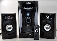 Акустика 2.1 E-112 60W (USB/Bluetooth/FM-радио)