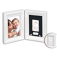 Набор Baby Art Print Frame white & black (фоторамка + отпечаток ножки)
