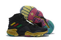 Баскетбольные кроссовки Adidas Pro Bounce 2018 black-gold