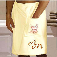 Юбка для сауны мужская с Вашей надписью, фото 1