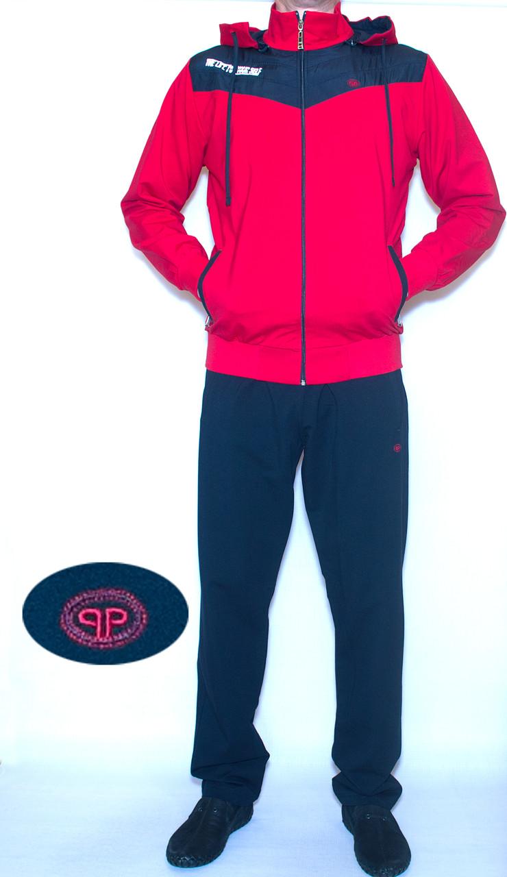 Спортивный костюм мужской с капюшоном PIYERA 7409 (M-XL)