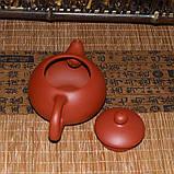 Чайник глиняный красный, 130 мл, фото 2