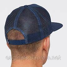 Кепка Адидас с сеткой синяя Trefoil Trucker Cap CD6982, фото 2