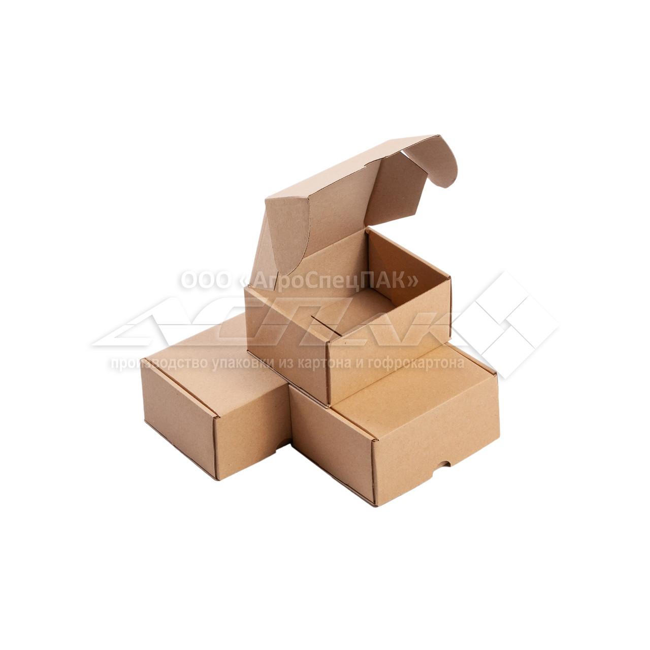 Почтовая коробка 120х100х60 бурая