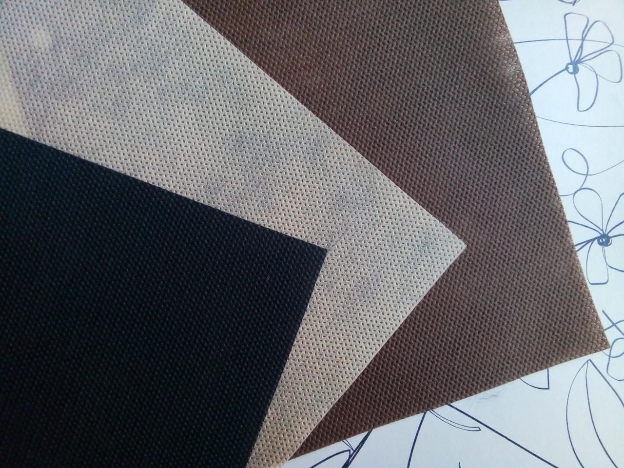 Флизелин 60 1.6 беж коричневый черный
