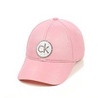 """Жіноча кепка з напиленням """"CK"""", фото 1"""