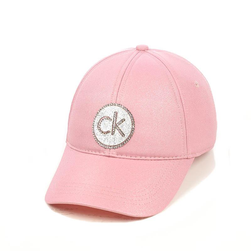 """Жіноча кепка з напиленням """"CK"""""""