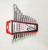 Набор ключей комбинированных 12 ед. Intertool HT 12-03 (6-19) 22 мм Cr-V\, фото 1