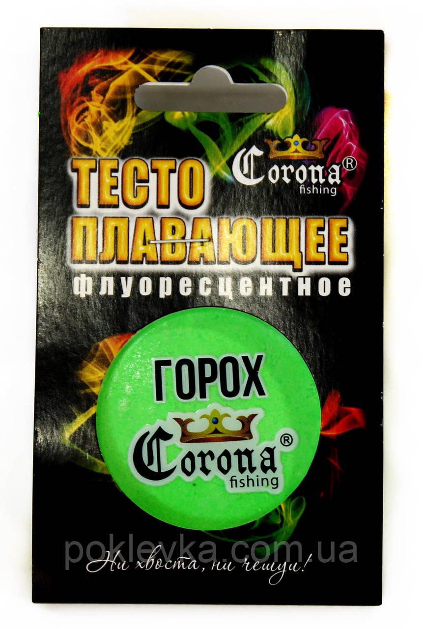 Тесто плавающее флуорисцентное Сorona® 35 мл Горох