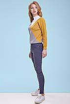 Женский трехцветный свитер (3301-3299 svt), фото 3