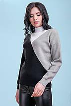 Женский трехцветный свитер (3301-3299 svt), фото 2