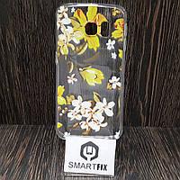 Чехол с рисунком для Diamond Samsung S6 Edge (G925)