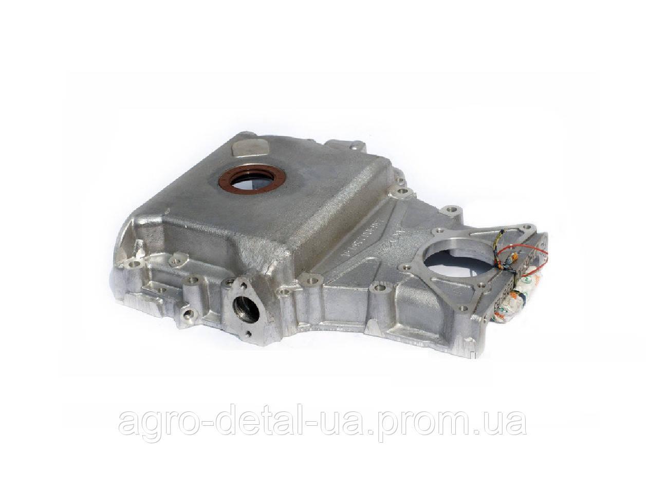 Крышка блока двигателя 238Б-1002261-Б3 передняя нового образца двигателя ЯМЗ 236,ЯМЗ 238