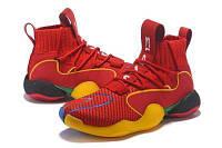 Баскетбольные кроссовки  Adidas Pharrell x Originals Crazy BYW  red