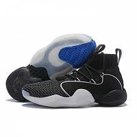 Баскетбольные кроссовки  Adidas Pharrell x Originals Crazy BYW black