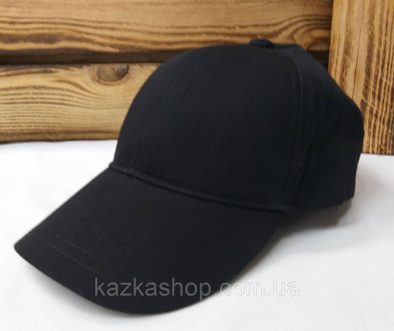 Мужская кепка черного цвета, без ничего, котоновая, с регулятором