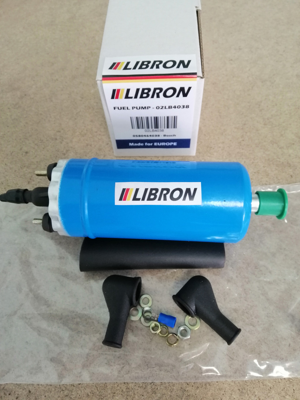 Топливный насос LIBRON 02LB4038 - OPEL VECTRA A (86_, 87_) 2000/GT 16V 4x4 KAT (1990-1995)