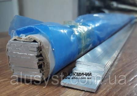 Алюминиевая полоса   Шина, Без покрытия, 20х2 мм