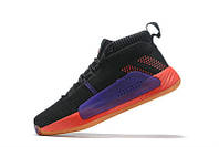Баскетбольные кроссовки Adidas Dame 5 black
