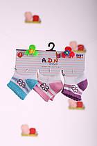 Носки с цветочком 3 шт.