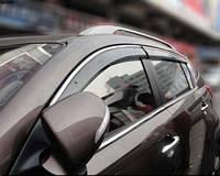 HIC Дефлектор окна Kia Sportage 2010-> С Хром Молдингом