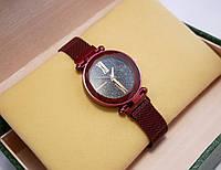 Часы женские Geneva на магнитной застежке Red