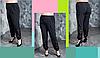 Женские брюки с ажурными вставками, с 48 по 98 размер