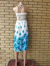 Юбка-сарафан летняя в пол коттоновая MEINA, фото 2