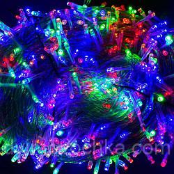 Гирлянда уличная светодиодная С 31318, 1000 лампочек, 100 метров, мультиколор