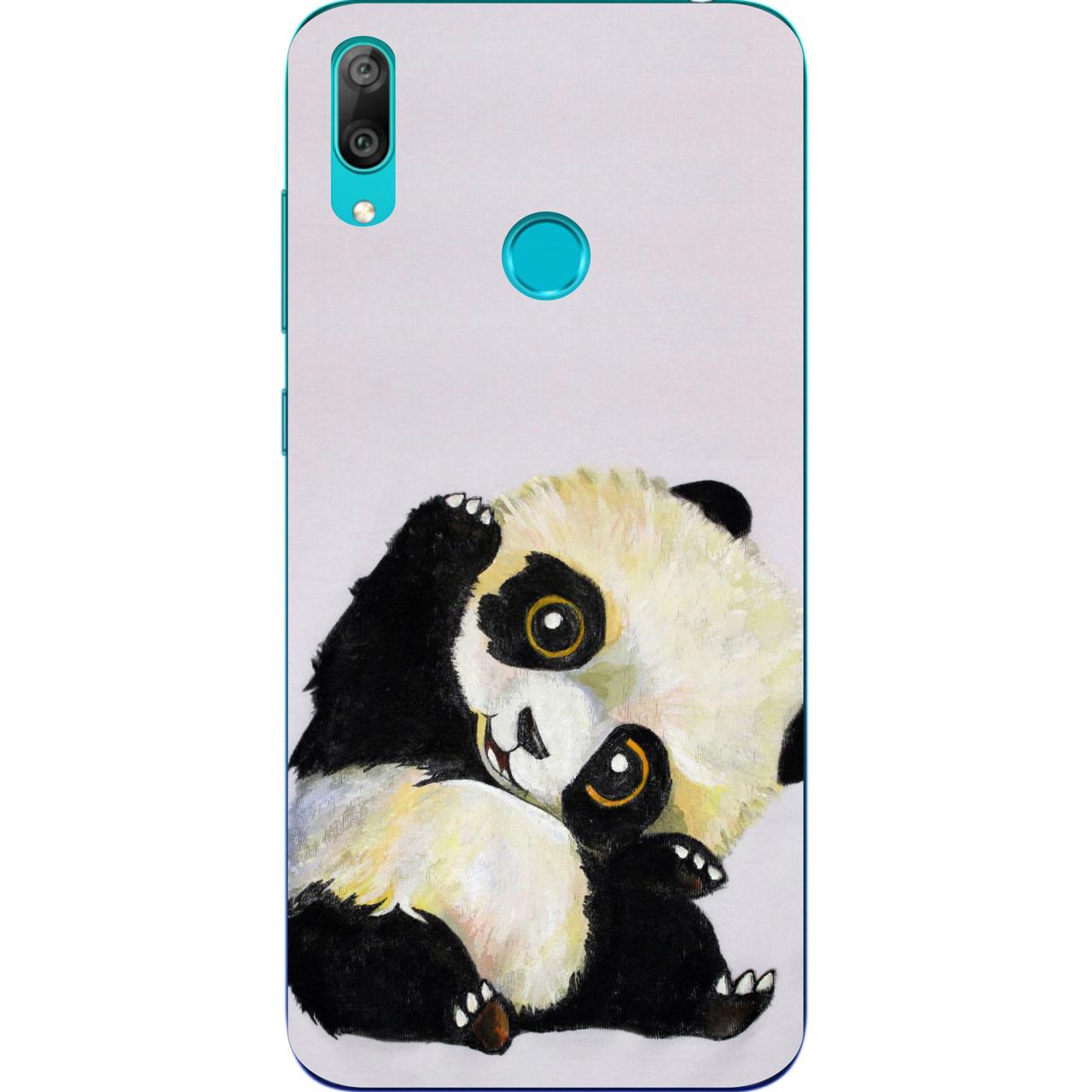 Чохол бампер для Huawei Y7 2019 з принтом Панда