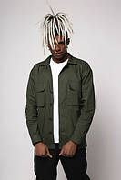 Куртка-рубашка хаки мужская Фьюри (Fury) от бренда ТУР