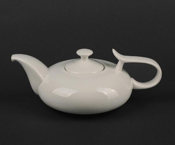 Чайник с крышкой фарфоровый Helios Extra white 450 мл (A7060)