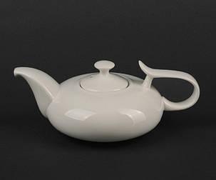 Чайник с крышкой фарфоровый Helios Extra white 450 мл (A7060), фото 2