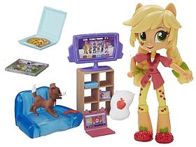 Hasbro My Little Pony Equestria Girls Minis Пижамная вечеринка Applejack (B4910/B6040)