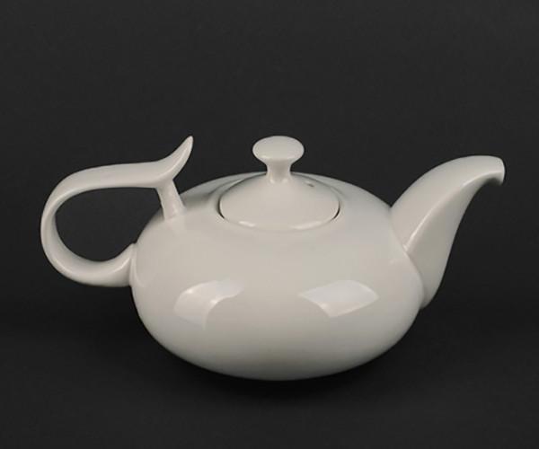 Чайник с крышкой фарфоровый Helios Extra white 450мл (HR-A7060)