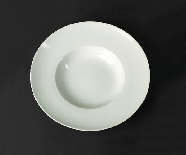 Тарелка глубокая фарфоровая Helios Extra white 400 мл (A7009)