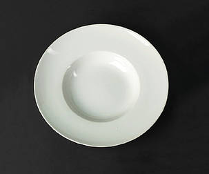 Тарелка глубокая фарфоровая Helios Extra white 400 мл (A7009), фото 2