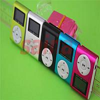 Плеер MP3-01 c картридером с экраном; microSD(T-Flash) до 16Gb; Металл