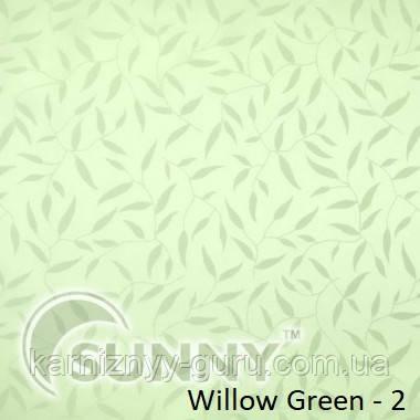 Рулонные шторы для окон в открытой системе Sunny, ткань Willow