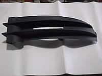 Решотка радиатора черная с хромом VW CADDY, TOURAN 04-