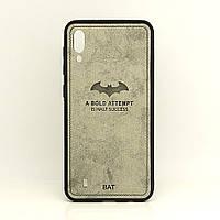 Чехол BAT для Samsung Galaxy M10 бампер накладка серый