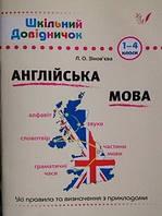 Справочник школьника Английский язык 1-4 класс
