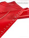 Силиконовый коврик для выпечки антипригарный, большой 62*42 (красный), фото 5