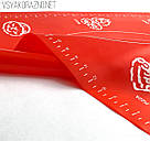 Силиконовый коврик для выпечки антипригарный, большой 62*42 (красный), фото 2