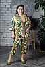 Костюм женский с укороченными брюками, с 48 по 98 размер
