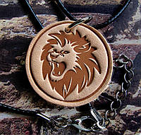 Кулон-подвеска Рычащий Лев, фото 1