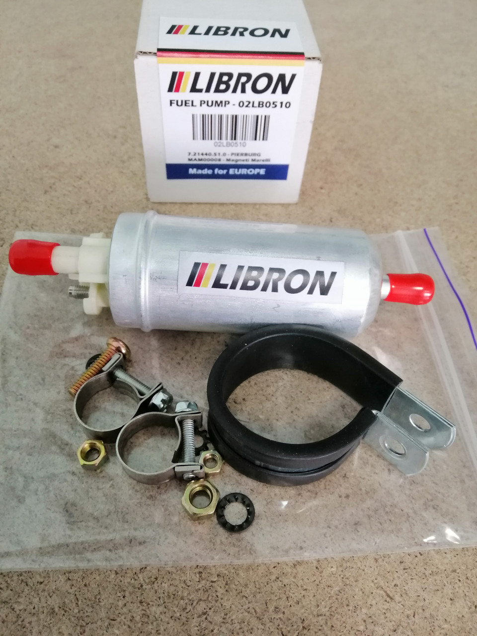 Бензонасос LIBRON 02LB0510 - OPEL COMMODORE C