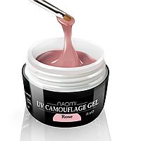 Камуфляжный Гель Naomi - UV Camouflage Rose 28 гр (розовый)