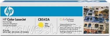 Картридж HP CB542A